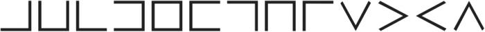 Trowel otf (400) Font LOWERCASE
