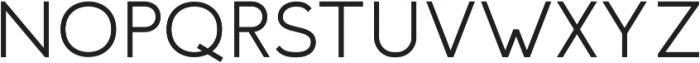 Troye Sans otf (400) Font UPPERCASE