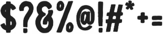 Troyline Sans Regular otf (400) Font OTHER CHARS