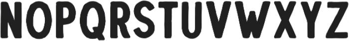 Troyline Sans Regular otf (400) Font UPPERCASE