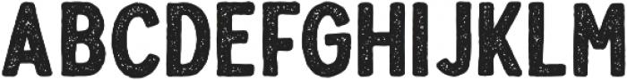 Troyline Sans Stamp otf (400) Font UPPERCASE