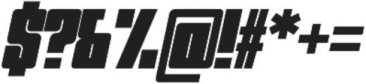 Trudal Italic otf (400) Font OTHER CHARS