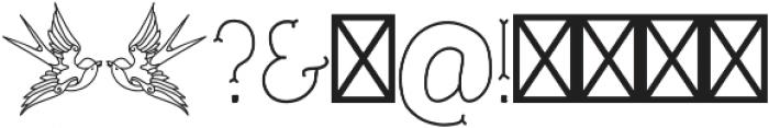 TrueMama otf (400) Font OTHER CHARS
