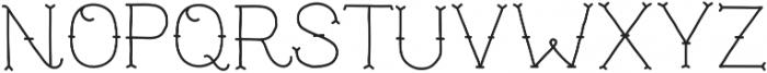 TrueMama otf (400) Font UPPERCASE