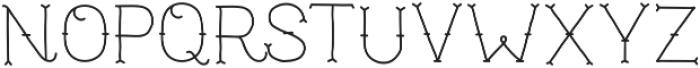 TrueMama otf (400) Font LOWERCASE