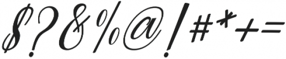 Truelike otf (400) Font OTHER CHARS