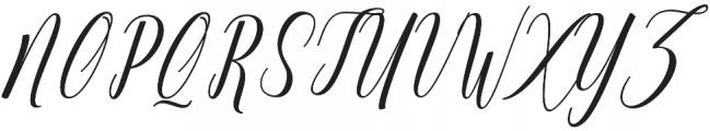 Truelike otf (400) Font UPPERCASE
