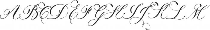 Trufla ttf (400) Font UPPERCASE