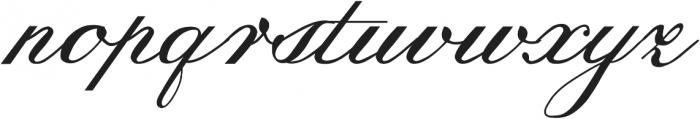Trufla ttf (400) Font LOWERCASE