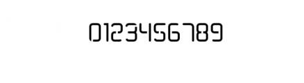TRUMANS-Stencil.otf Font OTHER CHARS