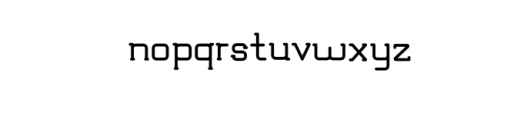 TRUMANS.otf Font LOWERCASE