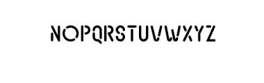 Transsiberian Font UPPERCASE