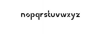 Transsiberian Font LOWERCASE