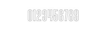 Triester Sans Outline.otf Font OTHER CHARS