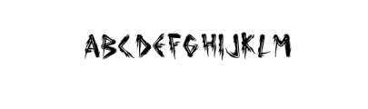 TrueTypeTTF Font UPPERCASE