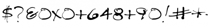 Treefrog Font OTHER CHARS