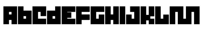 Trick Thik Font LOWERCASE