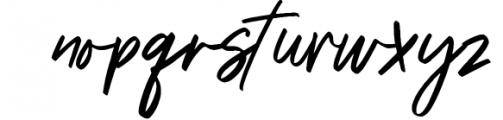 Triester SVG Brush Font Free Sans 1 Font LOWERCASE