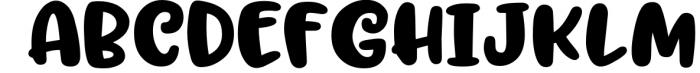 Trillian - 1 fun font, 3 heights! 2 Font UPPERCASE