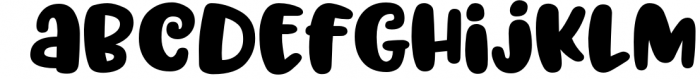 Trillian - 1 fun font, 3 heights! 2 Font LOWERCASE