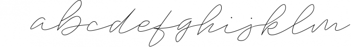 Trixie Script - 3 Weights 1 Font LOWERCASE