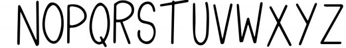 Tropical Flamingo Font Duo Font UPPERCASE