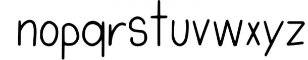 Tropical Flamingo Font Duo Font LOWERCASE
