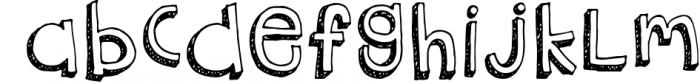 Truant Font 1 Font LOWERCASE