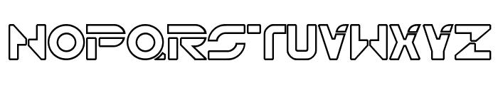 TR2N Font UPPERCASE