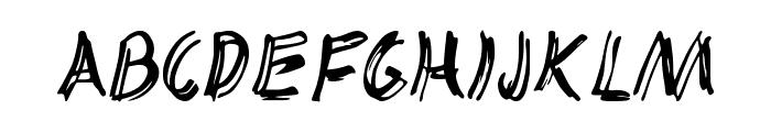 TRACKER Font UPPERCASE
