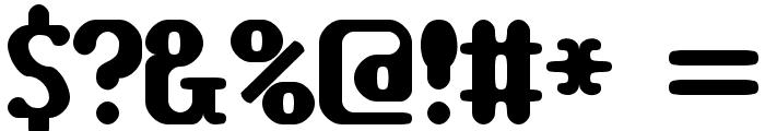 TRAGIC BRK Font OTHER CHARS