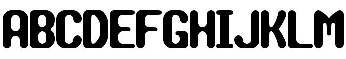 TRAGIC BRK Font UPPERCASE