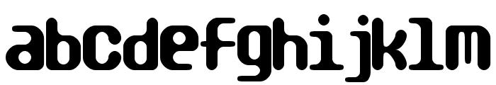TRAGIC BRK Font LOWERCASE