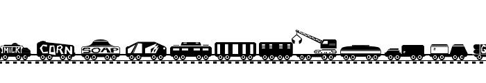 TREIN Font UPPERCASE