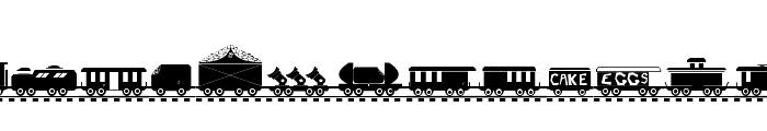TREIN Font LOWERCASE