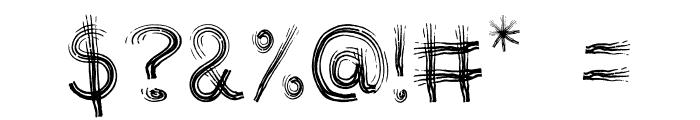 TRIBE FONT Regular Font OTHER CHARS