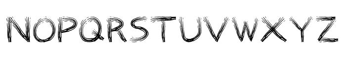 TRIBE FONT Regular Font UPPERCASE