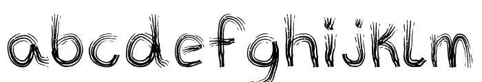TRIBE FONT Regular Font LOWERCASE