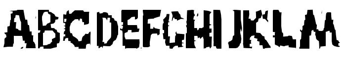 TRUCK NOVEMBRE GRUPPE Font LOWERCASE
