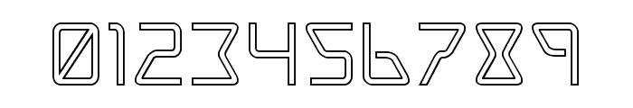 Tracer Outline Font OTHER CHARS