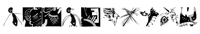TracesOfKandinsky Font OTHER CHARS