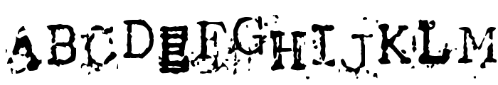 Tract Font UPPERCASE