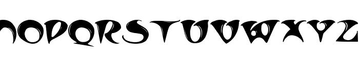 TradeWinds Font UPPERCASE