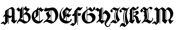 Traditio AH Font UPPERCASE