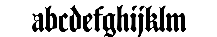 Traditio AH Font LOWERCASE