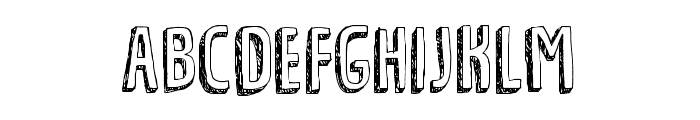 Tradizional DEMO Regular Font UPPERCASE