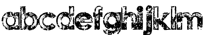 Tragic Vision Font LOWERCASE
