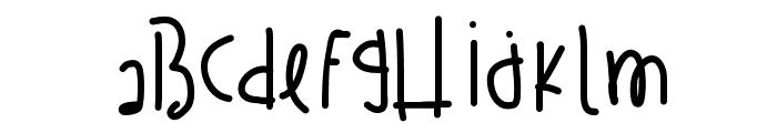 TragicKingdom Font LOWERCASE