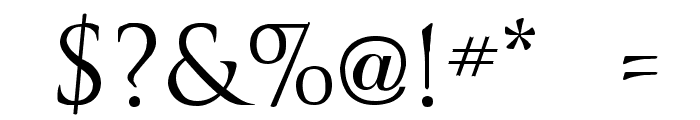 Trajanus Roman Font OTHER CHARS
