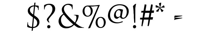 TrajanusBricks Font OTHER CHARS